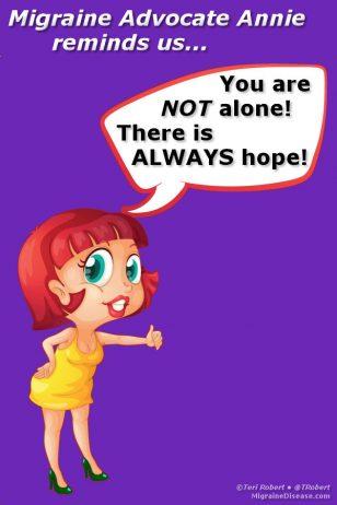 Migraine Advocate Annie's Encouragement