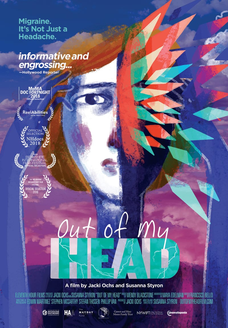 Migraine documentary film Out of My Head poster