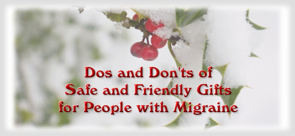 Migraine Friendly Holiday Gifts